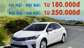 Taxi Hà Nội đi Nội Bài