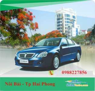 Taxi Nội Bài đi Hải Phòng